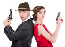 Gangsters Royalty Free Stock Photo