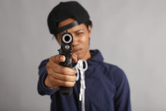 gangsterska dziewczyna Zdjęcie Royalty Free