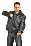 gangsterski mężczyzna Fotografia Royalty Free