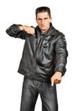 gangsterski mężczyzna Zdjęcia Stock