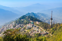 Gangtok aerial view Stock Images