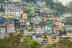 Gangtok The Capital City of Sikkim , India Royalty Free Stock Images