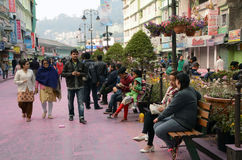 Gangtok City Stock Images