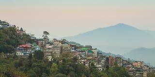 Gangtok die Hauptstadt von Sikkim, Indien lizenzfreies stockfoto