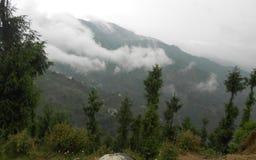 Gangtok huvudstaden av Sikkim, Indien Arkivfoton