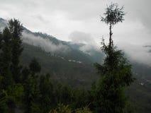 Gangtok huvudstaden av Sikkim, Indien Arkivbild