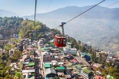 Gangtok Ropeway, India Stock Photography
