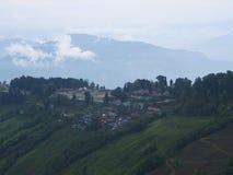 Gangtok, SIKKIM, la INDIA, el 17 de abril de 2011: Visión sobre el ce de la ciudad Imagenes de archivo