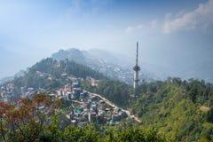 Gangtok topview Stock Photo