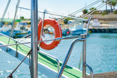 Gangway of the ship Sea Stock Image