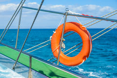 Gangway of the ship Sea Royalty Free Stock Image