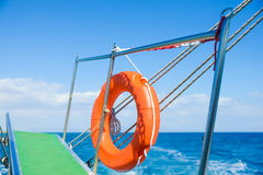 Gangway of the ship Sea Royalty Free Stock Photography
