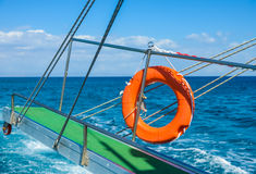 Gangway of the ship Sea Royalty Free Stock Images