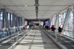 Gangway to Dubai Mall Stock Photo