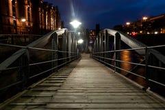 Gangway w Hamburg. Obrazy Stock