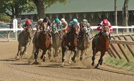 Ganhando sua primeira raça Imagens de Stock Royalty Free
