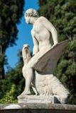 Ganimede-Statue im Boboli-Garten, Florenz Lizenzfreies Stockbild