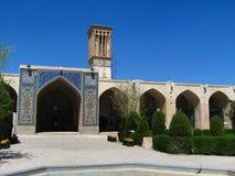 Ganj Ali Khan hammam & x28; badhouse& x29; i Kerman Iran royaltyfria foton