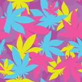 Ganja pattern Stock Image