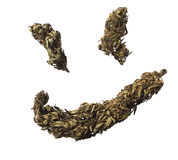 Ganja smile Royalty Free Stock Photos