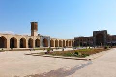 Ganjali可汗复合体,克尔曼,伊朗 免版税库存图片