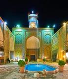 Ganjali Khan Mosque, Kermán, Irán Imagenes de archivo