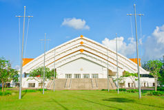 Ganjanaphisek大厅, Khonkaen泰国 免版税库存图片