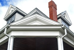 Gankowy dach ampuła dom Obraz Stock