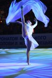 Ganna Bessonova(Deriugina Cup  Royalty Free Stock Images
