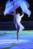Ganna Bessonova (Kop Deriugina   Royalty-vrije Stock Afbeeldingen