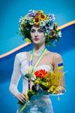 Ganna Rizatdinova de Ucrânia Imagem de Stock Royalty Free