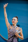 Ganna Rizatdinova of Ukraine Royalty Free Stock Photos
