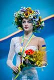 Ganna Rizatdinova of Ukraine Royalty Free Stock Image