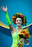 Ganna Rizatdinova van de Oekraïne Royalty-vrije Stock Foto's