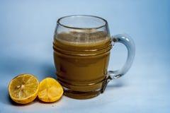 Ganne ka rasa lub trzcina cukrowa sok z surową trzciną cukrowa Obrazy Stock