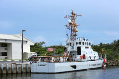 Gannet Cutter docked at Station Fort Lauderdale Royalty Free Stock Photos