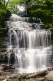 Ganoga Falls in early May Stock Photos