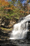 Ganoga Falls - Rickett's Glen State Park Royalty Free Stock Photography