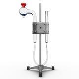 Ganong's respirometer Stock Photo