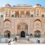 Ganosh POL Amer στο οχυρό στο Jaipur, Ινδία στοκ εικόνες