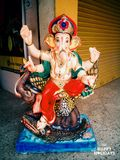 Ganpathi bapa Royaltyfri Bild