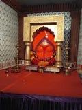 Ganpati bappa morya deva bhagwan stock photography