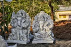 Ganpati idol - 2 Obrazy Royalty Free