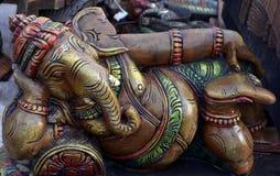 Ganpati-Idol lizenzfreie stockbilder