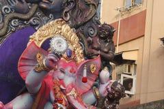 Ganpati visarjan στοκ φωτογραφία