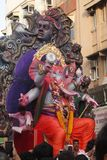 Ganpati visarjan στοκ εικόνα με δικαίωμα ελεύθερης χρήσης