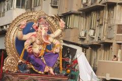 Ganpati visarjan στοκ εικόνα