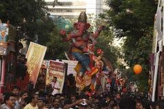 Ganpati visarjan στοκ εικόνες