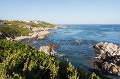 Gansbaai coastline in South Africa Stock Photography