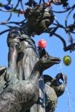 Ganseliesel fontanna w Goettingen Fotografia Stock